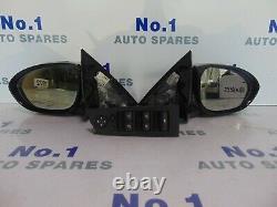 Bmw M3 Saloon E90 E91 Rétroviseurs D'aile Électrique Power Fold X2 Pair Switch 07-13