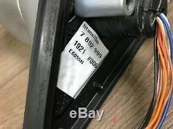 Bmw M5 E39 Oem Avant Côté Conducteur Extérieur Porte Miroir Argent Auto Fold 2000-2003