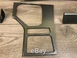 Bmw M5 E39 Oem Oem Jeu Avant Et Arrière En Aluminium Brossé Trims Porte Panneau De Garniture