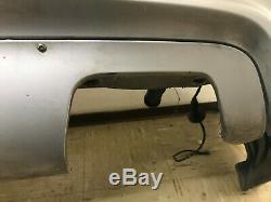 Bmw M5 E39 Oem Oem Pare-chocs Arrière Couverture Avec Pdc Capteurs Argent /// M 2000-2003