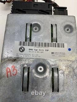 Bmw Oem 545 550 M5 645 650 M6 330 335 M3 Logic 7 Amp Amplifer Audio System A3