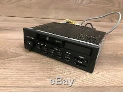 Bmw Oem E24 E28 E30 Avant Lecteur Cassette Radio Bande Indash Modèle Stéréo Cm5905