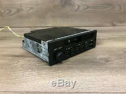 Bmw Oem E24 E28 E30 Avant Lecteur Cassette Radio Bande Indash Modèle Stéréo Cm5907