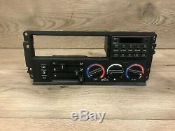 Bmw Oem E34 Avant Ac Climate Control A / C Commutateur De Chauffage W Ordinateur De Bord 89-95