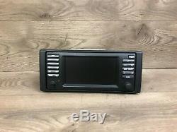 Bmw Oem E38 E39 E53 740 750 540 M5 X5 Large Écran De Navigation Radio Gps Monitor