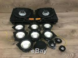 Bmw Oem E60 528 530 525 535 545 550 M5 Avant Et Arrière Haut-parleur Haut-parleurs Logic 7 Set