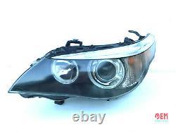 Bmw Oem E60 E61 M5 Front Driver Side Xenon Phare Adaptive Dynamic 2004-2007