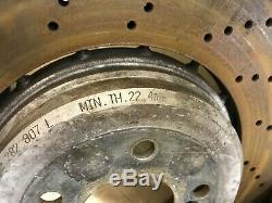 Bmw Oem E60 M5 E63 E64 M6 Étrier De Frein Avant Et Arrière Set Rotors # 2 2006-2010