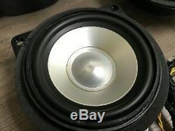 Bmw Oem E63 E64 M6 Avant Et Haut-parleur Arrière Haut-parleurs Logic 7 Set L7 2004-2010