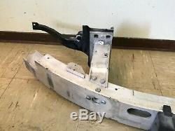 Bmw Oem E63 E64 M6 Pare-chocs Avant En Aluminium Renforcement Bar Rebar 2004-2010