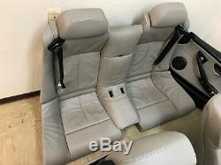 Bmw Oem E63 E64 M6 Sièges En Cuir Arrière Avant Convertible Seat Set Panneaux De Porte