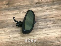 Bmw Oem E85 E39 E46 Z4 M3 M5 Frontal Vue Miroir Forme Ovale Noir Auto DIM