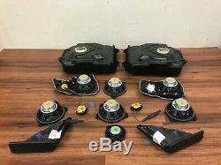 Bmw Oem F01 F02 740 750 760 Haut-parleurs Set Subwoofer Système Audio 09-15