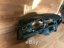 Bmw Oem F01 F02 740 750 760 Tableau De Bord Dash Board Avant Avec Airbag Noir 09-15