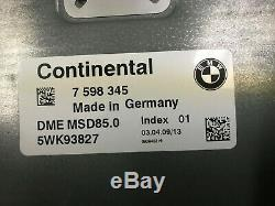 Bmw Oem F01 F02 750 Ecu Moteur Moteur Dme Computer Set Cas 2009 2010 2011 2012