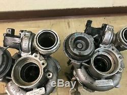 Bmw Oem F01 F02 F10 750 550 650 X5 X6 Moteur Twin Turbo Chargeur Charge Set N63