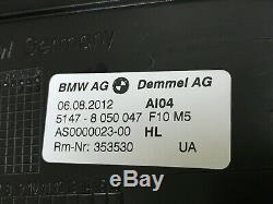 Bmw Oem F10 F11 M5 Et Avant Entrée Latérale Arrière Étape Garniture Trims Set 2011-2016