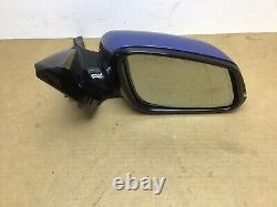 Bmw Série 1 F20 5 Porte Conducteur O/s Electric Power Folding Mirror Blue B45