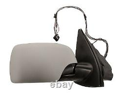 Bmw X5 E53 2003-2007 Wing Mirror Electric Heated Black Power Fold With Memory Of