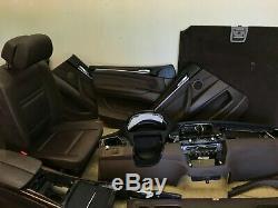 Bmw X5 E70 Oem Avant Et Sièges Du Siège Arrière Panneau De Porte Dash Set Tobacco Brown 07-13