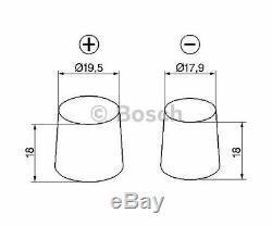 Bosch Batterie De Démarrage S5 0 092 150 S50