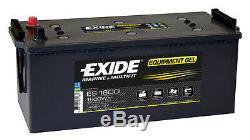 Exide Équipement Gel Es1350 (g120) 120ah Versorgerbatterie Gelbatterie 1350wh