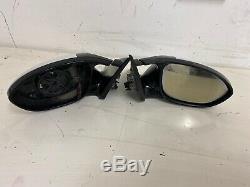M3 E92 Bmw E93 Paire De Électriques Chauffants Électrique Pliant Aile Miroirs Oem Blanc