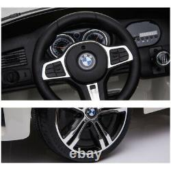 Pour Bmw 6gt 12v Kids Ride On Car Electric Battery Powered Licensed Withmusic Light