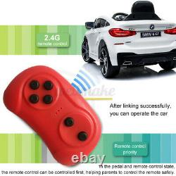 Pour Bmw 6gt 12v Kids Ride On Car Licensed Electric Battery Powered Music Play Uk