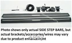 Pour Bmw X5 2014-2017 F15 Side Step Électrique Déployable Puissance De Fonctionnement Des Conseils