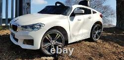 Rc 12v Kids Ride On Car Licensed Bmw 6gt Electric Battery Powered Music Play Usb