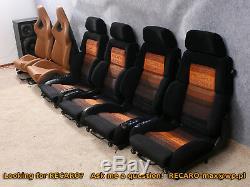 Recaro Classique C81 La Paire -alimentation Setas Convient W201 W124 Bmw Audi Électrique