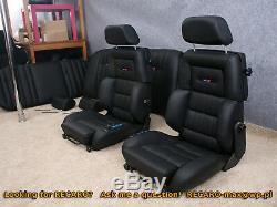 Recaro Classique C81 Les Crises Paire -alimentation Setas W201 W124 Électrique Bmw Audi