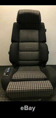 Recaro Classique C81-power Fits Seat W201 W124 Bmw Audi Électrique