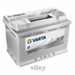 Varta Argent Dynamic E44 12v 77ah 780a Autobatterie 577400078 70 72 74 75 77 78a