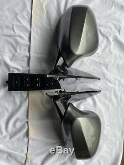 Véritable Bmw Série 3 E92 E93 Avant Énergie Électrique Pliante Wing Miroirs