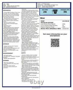 Volant/rack Puissance Rack Et Pinion Électrique S'adapte 12-18 Bmw 320i 358426